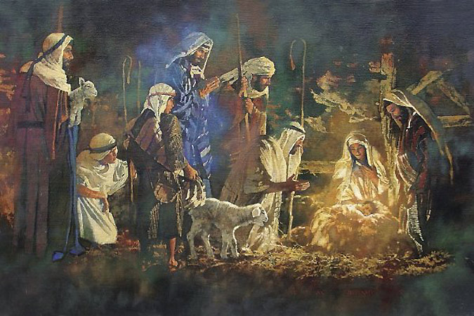 Image result for Christmas Eve nativity