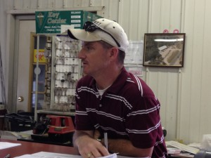 shawn aggie blog pic Ark Construction at Eagle Hardware?