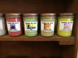candles by carol may 2 300x225 May 4 : Featured Item of the Week : Candles by Carol